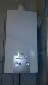 chauffe-bain Gaz Vaillant à ventouse